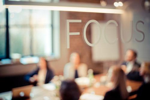 Teammeeting im FocusRoom