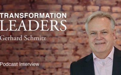 Gerhard Schmitz (Head of GF Global Business Services bei Lanxess) im Gespräch mit René Esteban